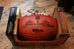 Ravens Fans **Game Ball, NFL Authentic, Super Bowl 47 in Spangdahlem, Germany