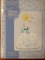 Precious Moments Snowflake Girl musical figure NIB in Clarksville, Tennessee